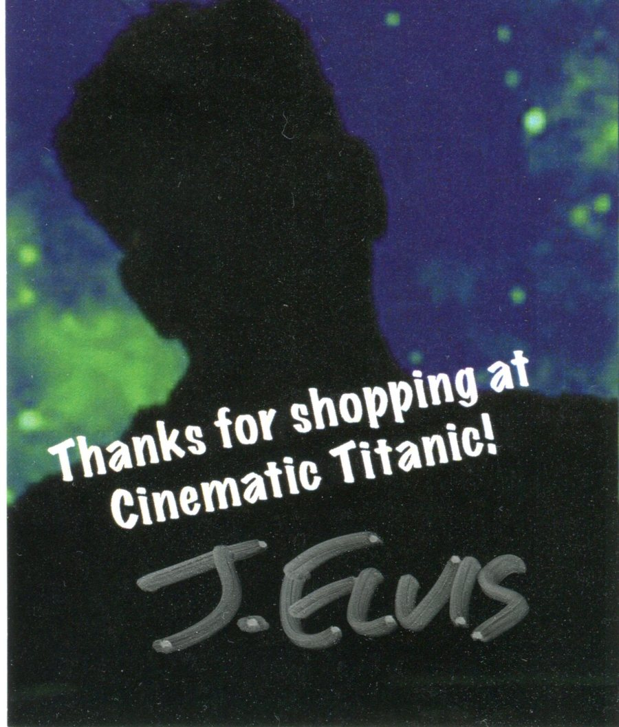 J Elvis CT Autograph
