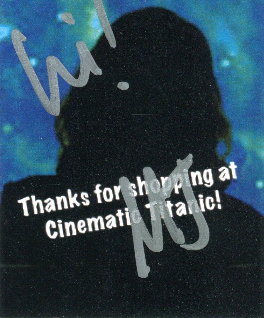 Mary Jo CT Autograph