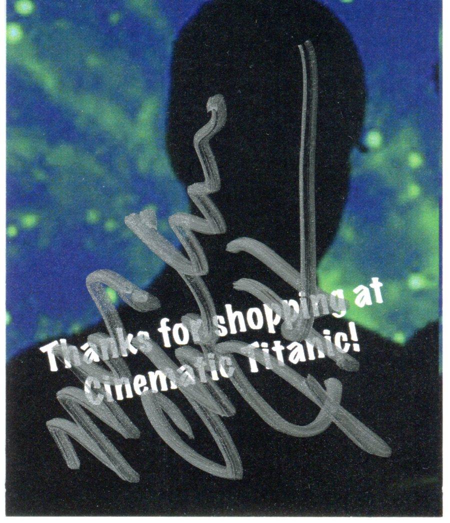 Joel CT Autograph
